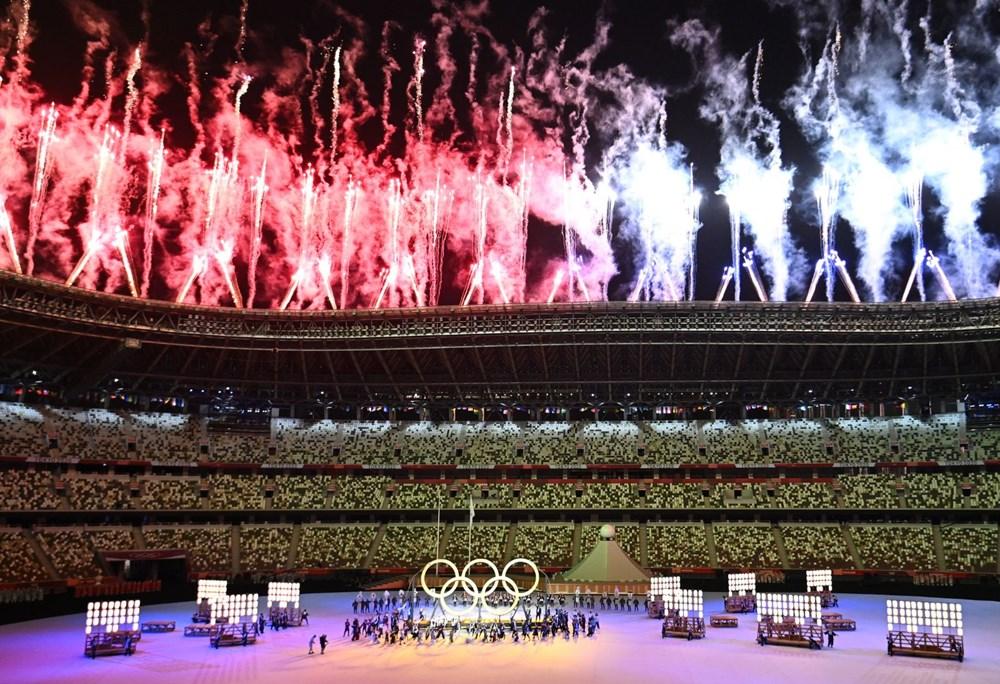 2020 Tokyo Olimpiyatları görkemli açılış töreniyle başladı - 54