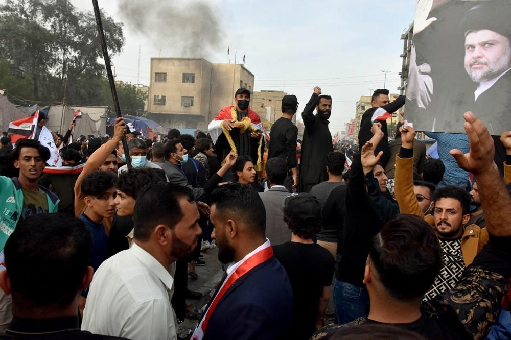 Irak Zikar'da gösterileri hedef alan saldırıda 3 protestocu öldü, 70 kişi yaralandı - 7