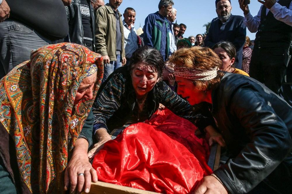 Hain saldırının küçük kurbanları: Cenazede gözyaşları sel oldu - 10