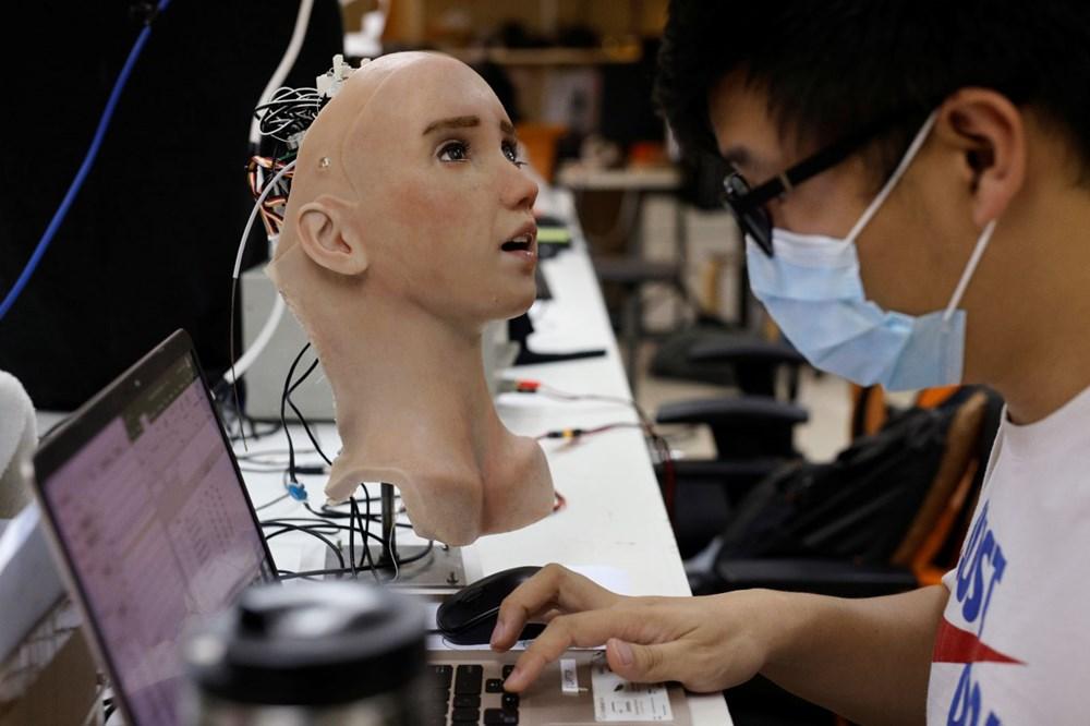 Robot Sophia'ya kardeş geldi: Robot hemşire Grace - 7