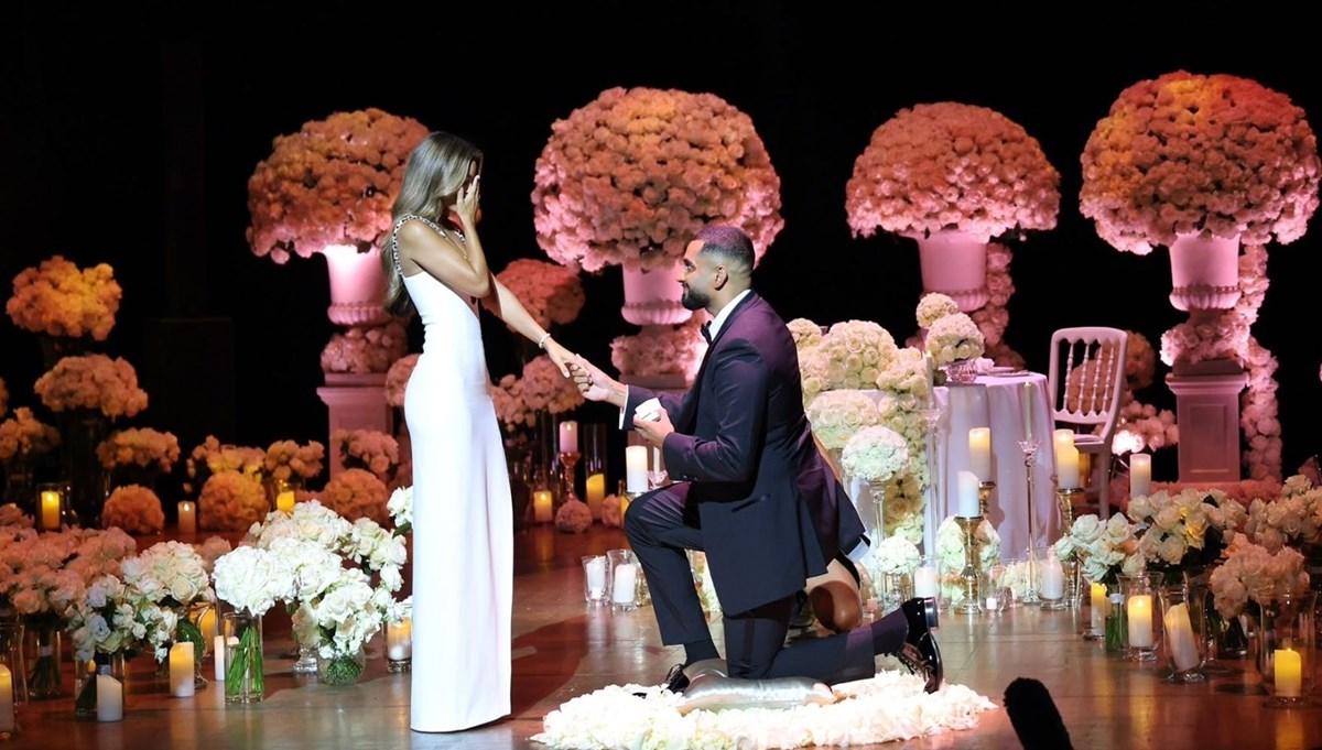 Model Nada Adelle'e görkemli evlenme teklifi: 2 milyon dolarlık yüzük