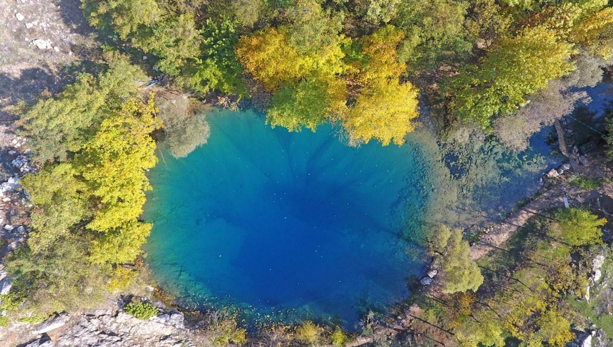 Suyunun rengi ve kaynağı bilinmiyor: Kahramanmaraş'ın gizemli cenneti Yeşilgöz