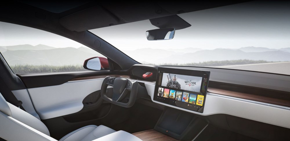 Tesla Model S'in yeni kokpit görselleri yayınlandı - 6