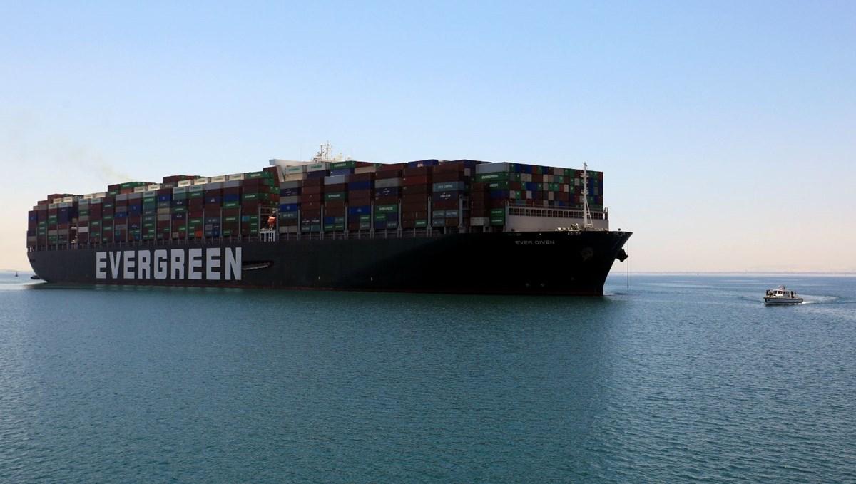 Süveyş Kanalı'nı tıkayan gemi 106 gün sonra serbest