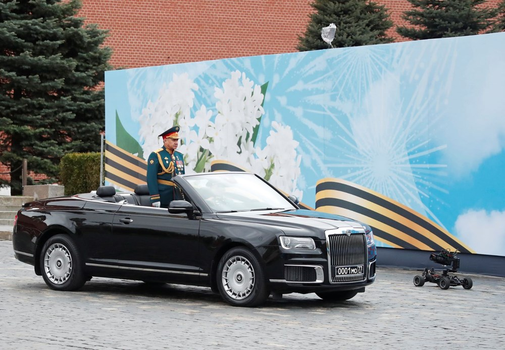 Rusya'da Zafer Günü kutlamaları: Moskova'da askeri geçit töreni - 16