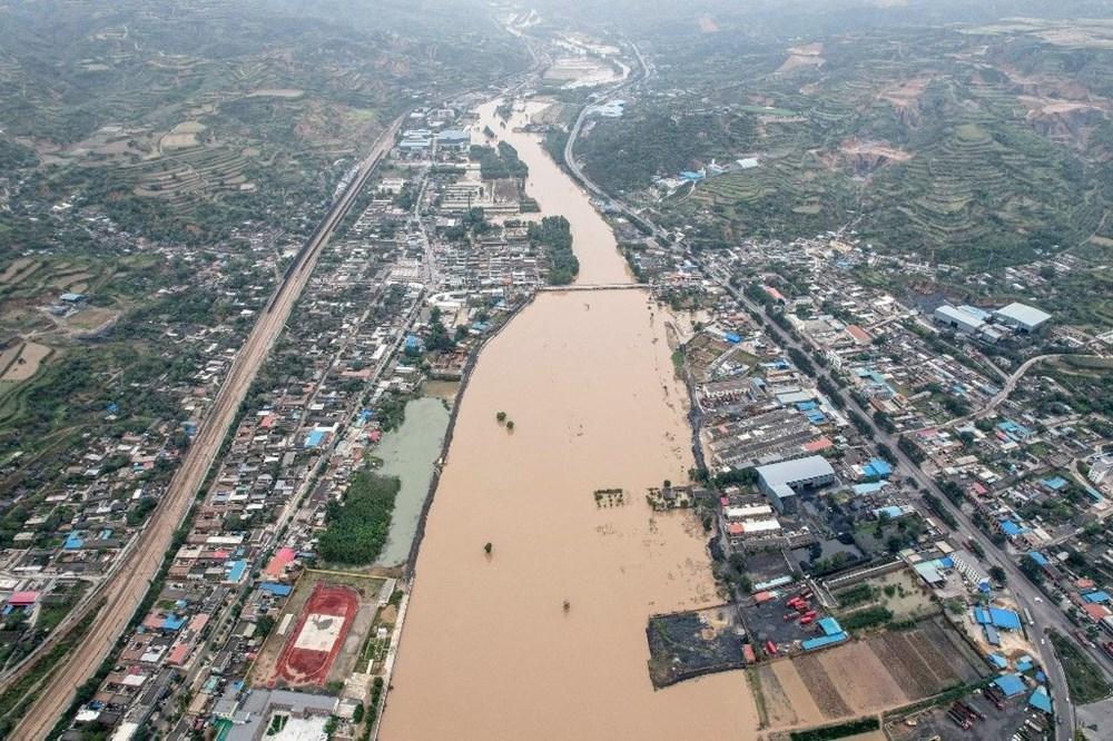 Çin'de sel felaketi: 15 can kaybı - 5