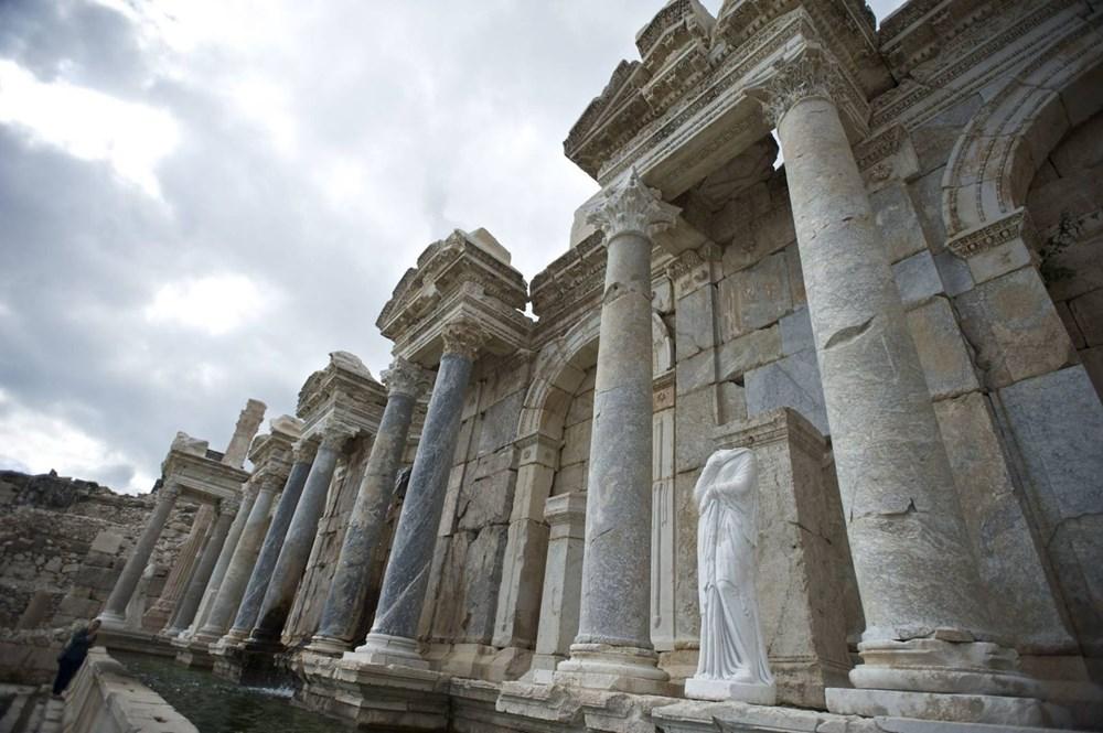Burdur'unantik güzelliği: Sagalassos Antik Kenti - 8