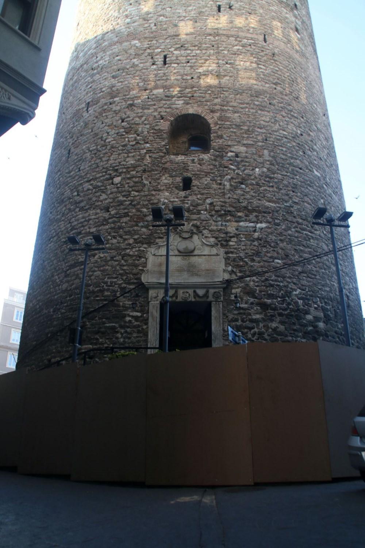 Galata Kulesi'nde restorasyon başladı - 15