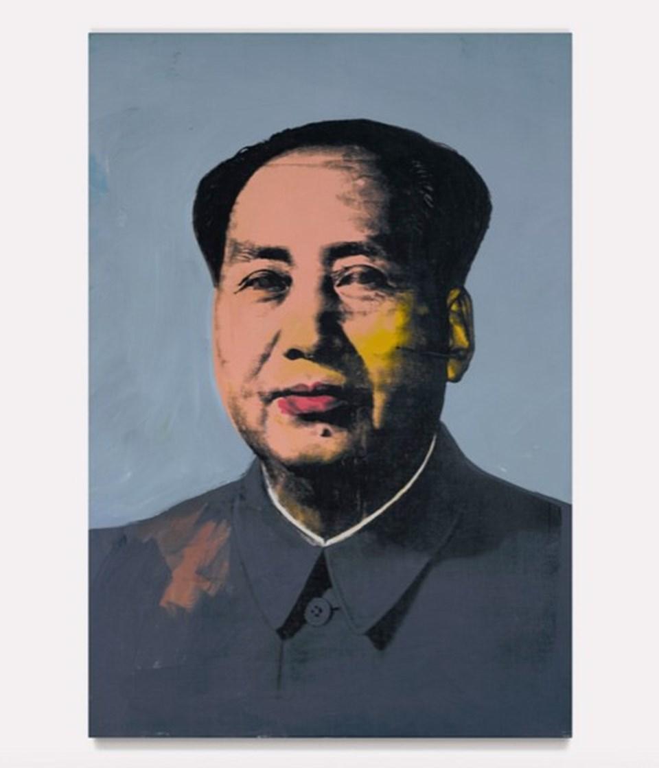Andy Warhol - Mao Zedong (1972) / 15,7 milyon dolar