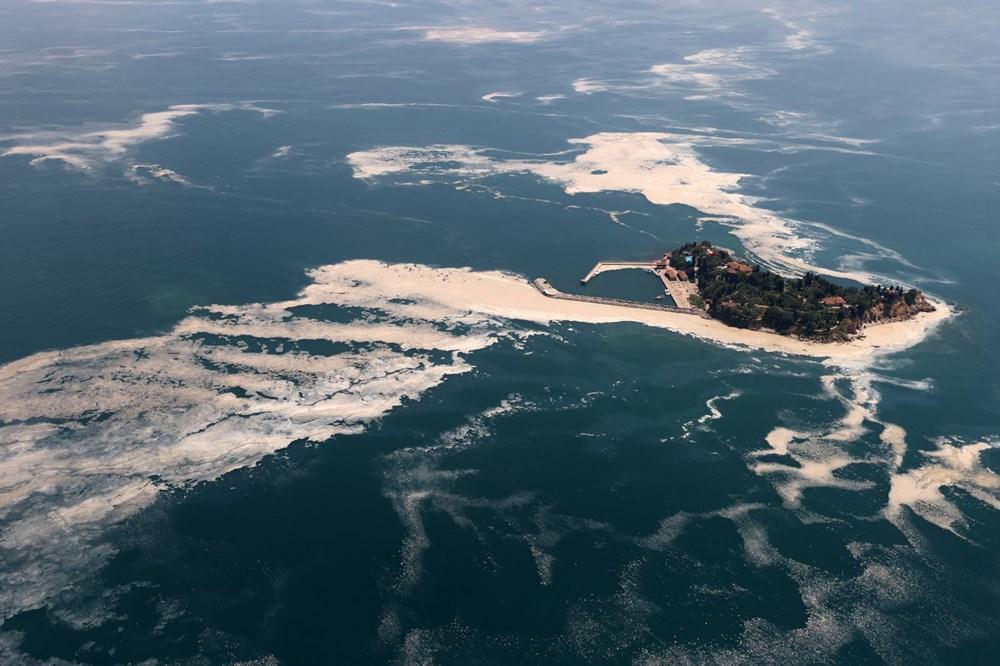 Müsilaj havadan görüntülendi: Deniz salyası her yerde - 7