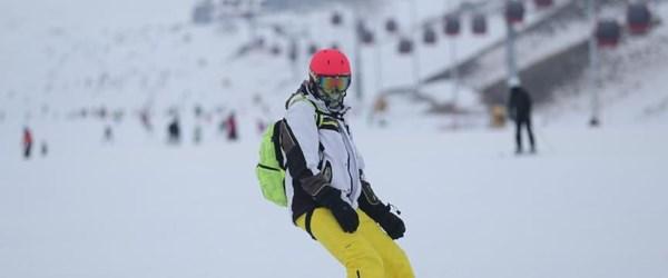 Erciyes'te Mayıs'a kadar kayak var