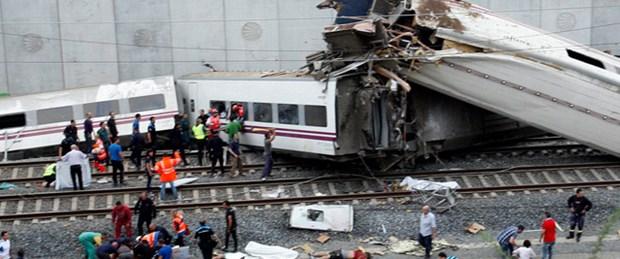 Ispanyada Tren Kazasi  Olu