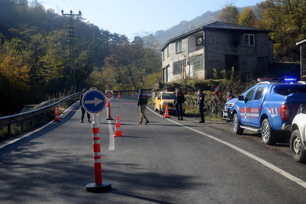 Trabzon'da karantinayı duyan mahalleden kaçtı - 6