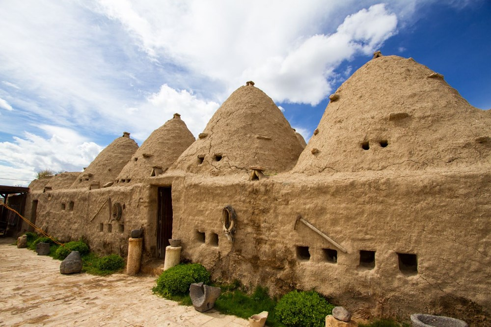 Harran's historical cupolas with their unique architecture - 4