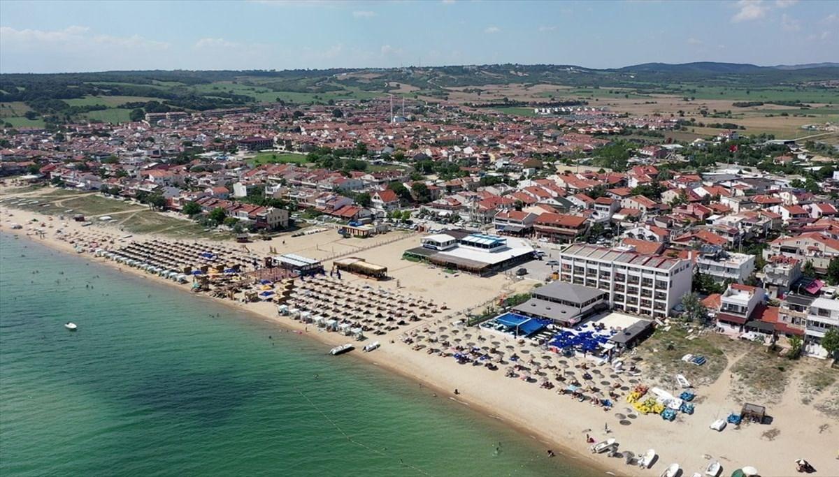 Saros'ta otel ve yazlıklara alternatif tatil: Çadır kampı