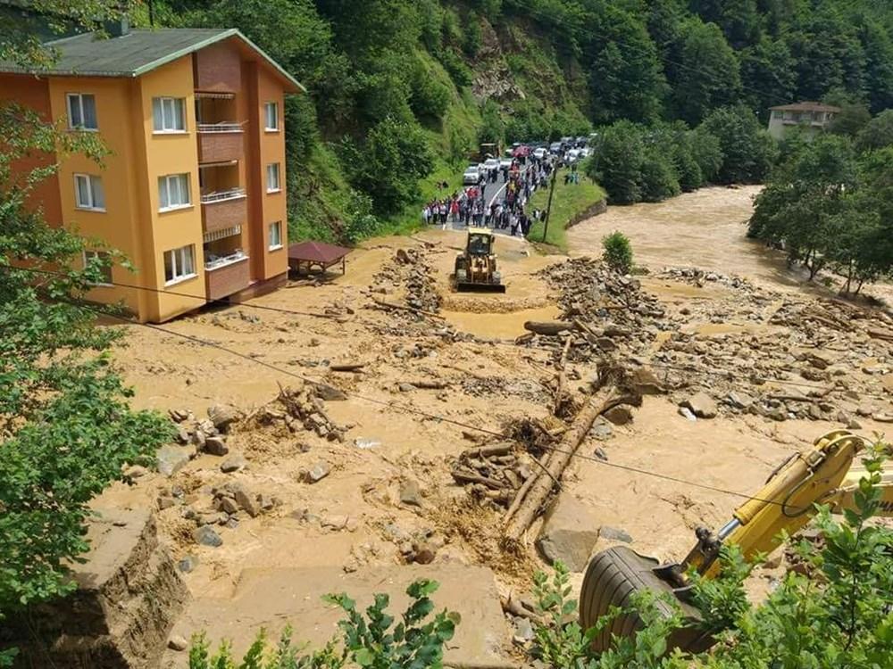 Şiddetli yağış Rize'yi de vurdu: 2 can kaybı - 27