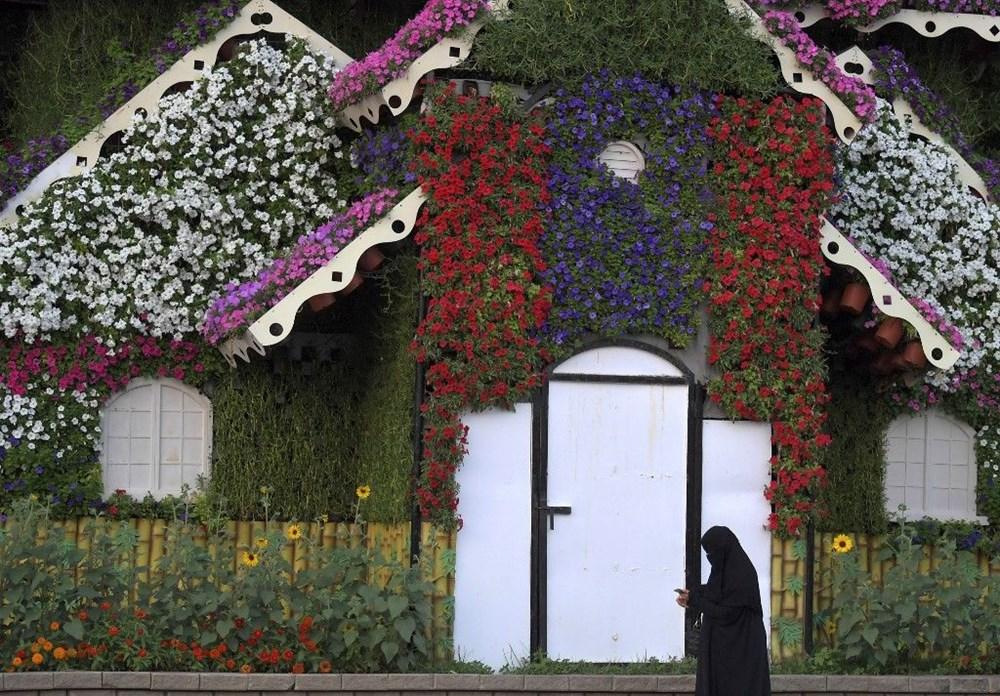 Dünyanın en büyük çiçek bahçesi Dubai'de açıldı - 6