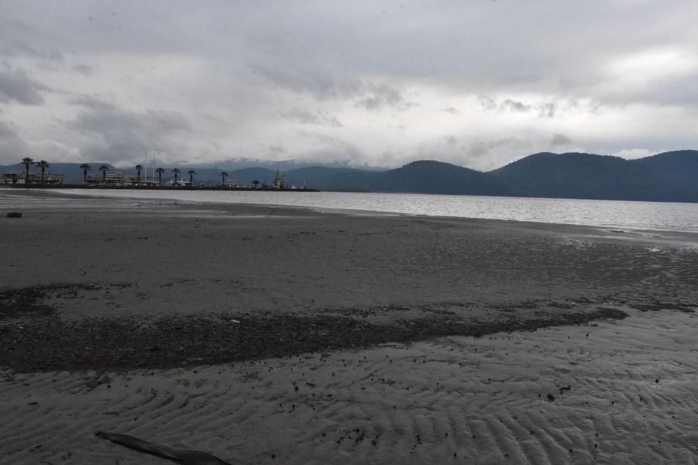 Muğla'da deniz suyu 40 metre çekildi - 11