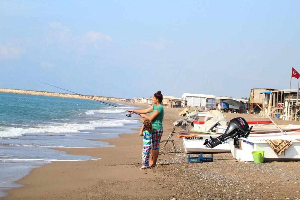 Lüks tatilin bedavaya sunulduğu 'Çardak Beach' çöplük oldu - 17