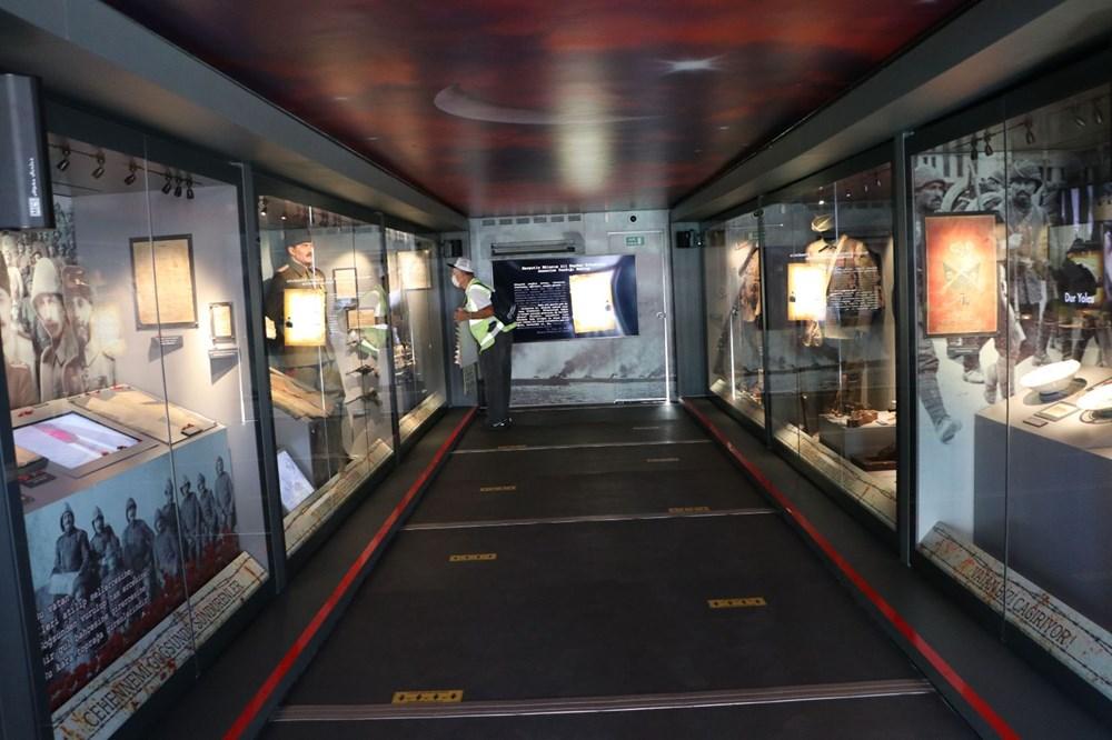 Çanakkale ruhu mobil müze ile Türkiye'ye yolculuğuna başladı - 6