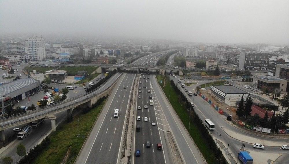 İstanbul'da, 'tam kapanma' öncesinde kaçış trafiği - 18