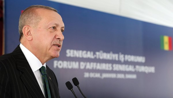 Cumhurbaşkanı Erdoğan: Hedefimiz Senegal ile ticaret hacmini 1 milyar dolara çıkarmaktır
