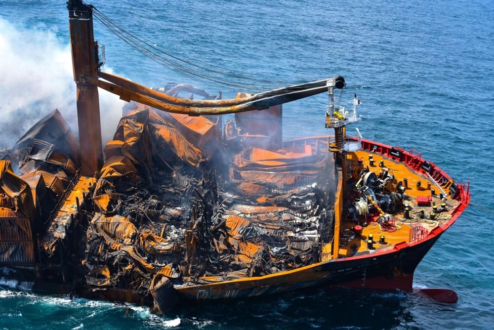 Kimyasal madde taşıyan gemi battı: Sri Lanka çevre felaketiyle karşı karşıya - 3