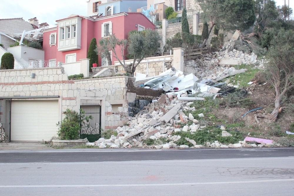 İzmir'de hortum felaketinin boyutları gün ağarınca ortaya çıktı - 21