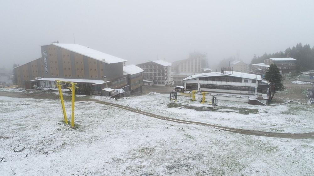 Geçen hafta 30 derece bugün kar - 6
