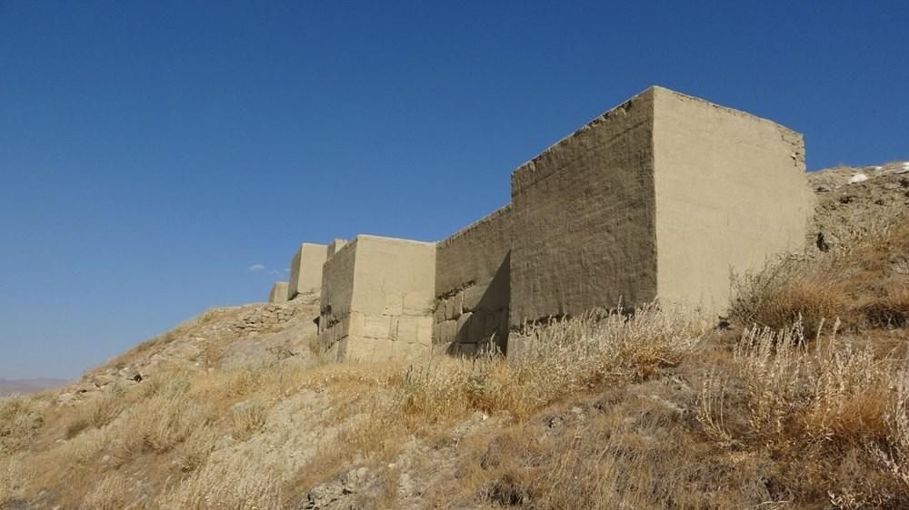Urartular'a ait 2 bin 750 yıllık tahıl ambarları koruma altına alınıyor - 3