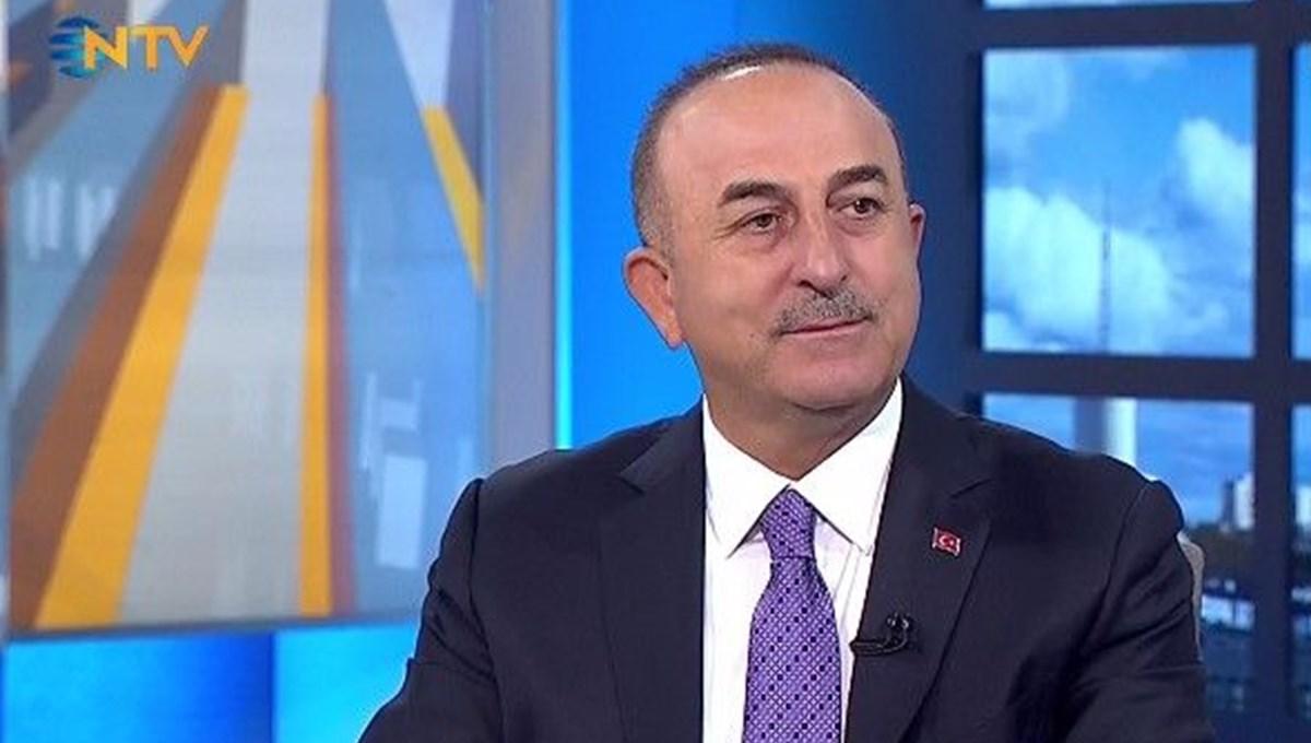 SON DAKİKA:Dışişleri Bakanı Çavuşoğlu, NTV'nin sorularını yanıtlıyor