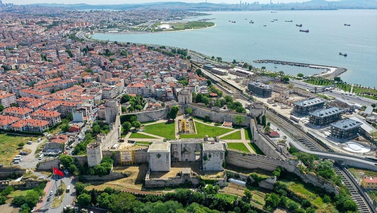 İstanbul'un en eski açık hava müzesi: Yedikule Hisarı