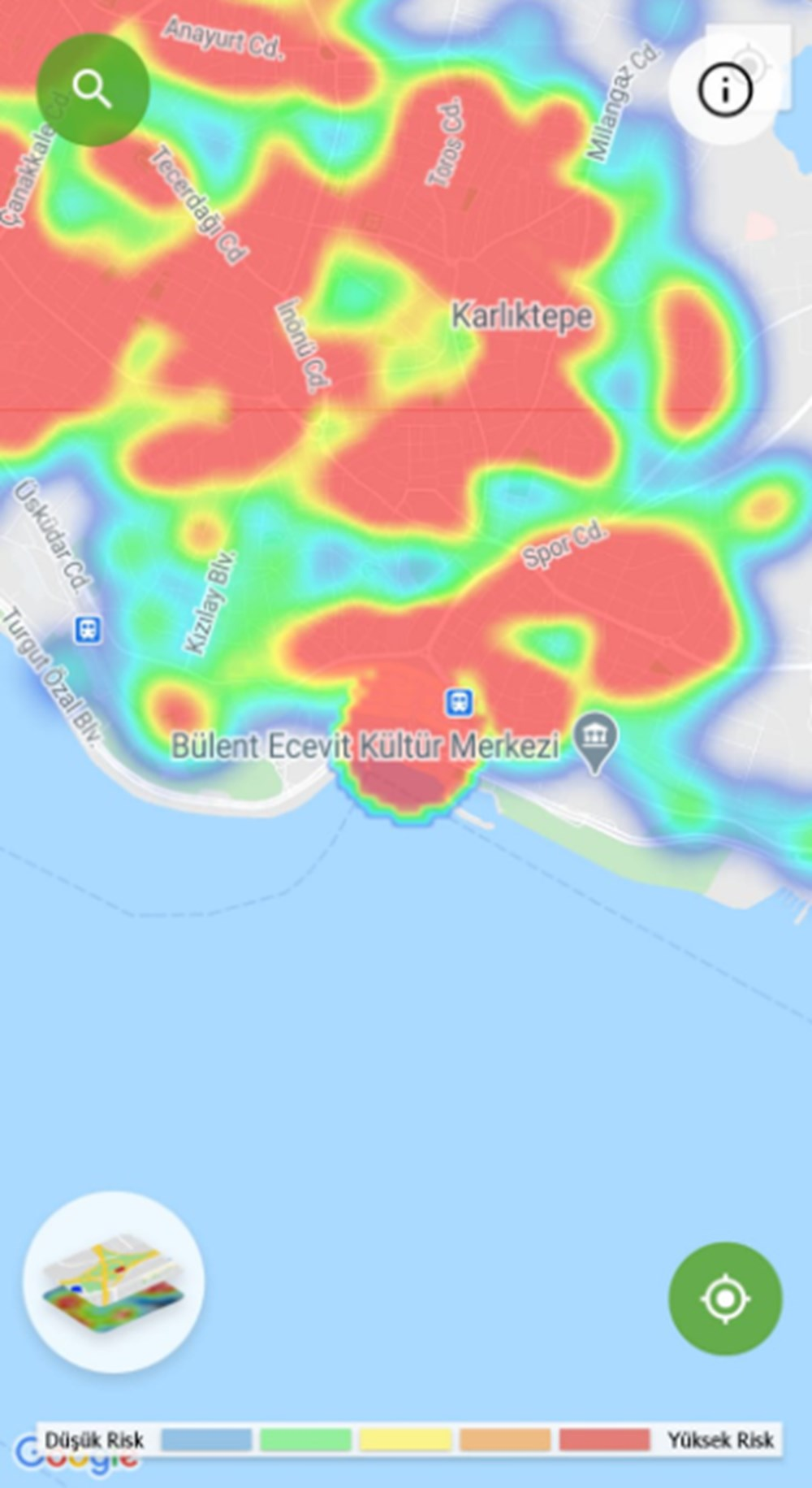 Corona haritası kızarıyor (İstanbul'un en güvenli ilçeleri) - 23