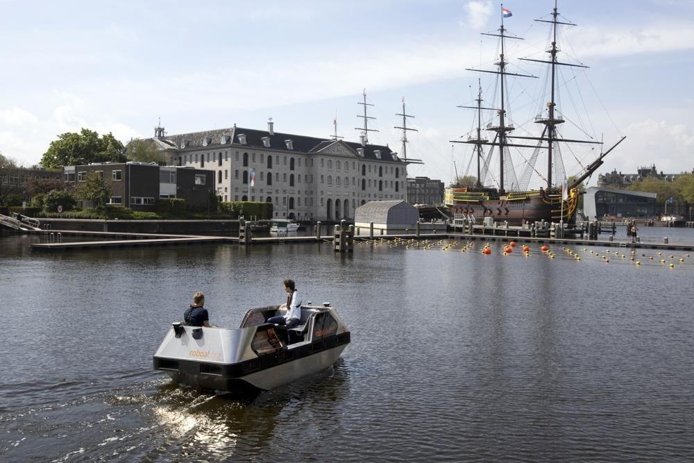 Sürücüsüz gezi teknesi tanıtıldı: Robot tekne - 6