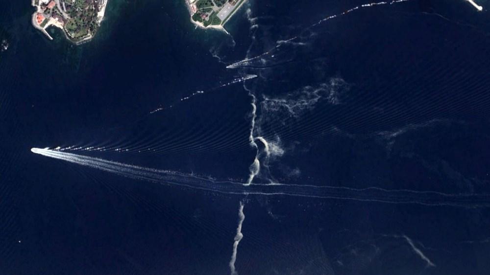 İstanbul'daki müsilaj uzaydan görüntülendi - 9
