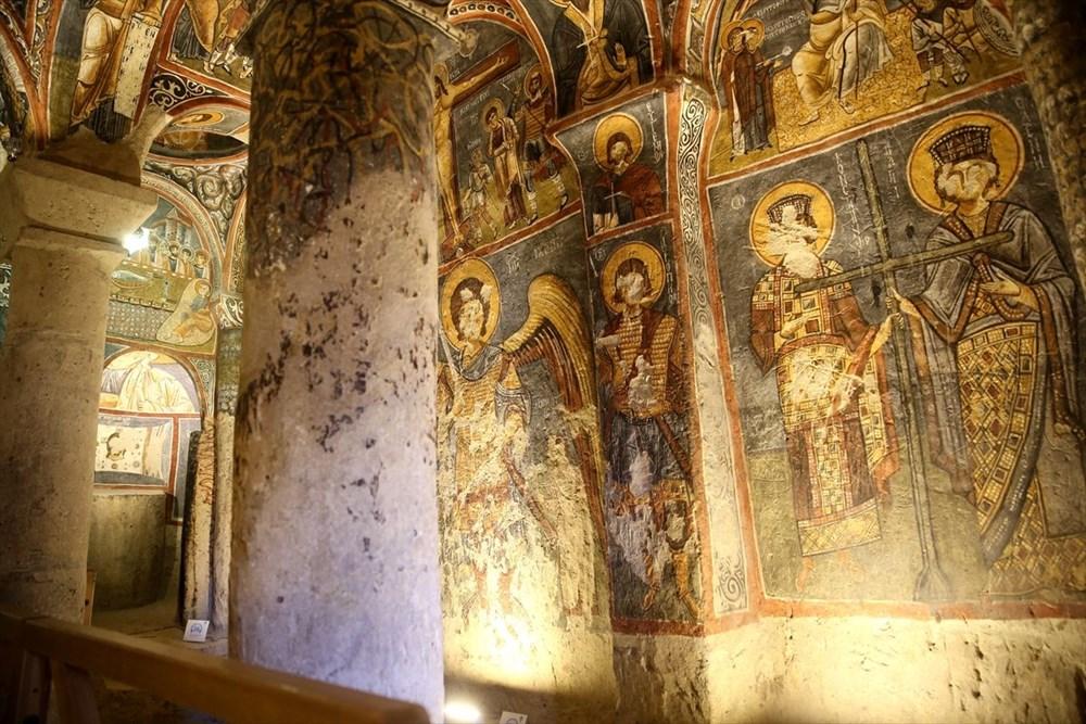 Karanlık Kilise'nin freskleri ile bin yıl öncesine yolculuk - 6