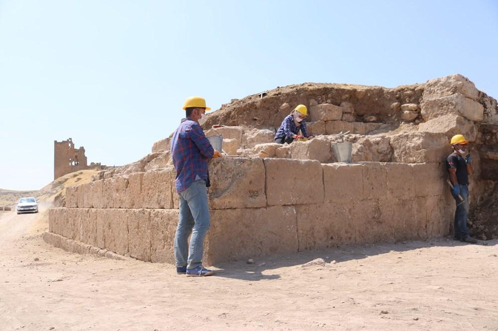 Zerzevan Kalesi'nin 1800 yıllık girişi bulundu - 6