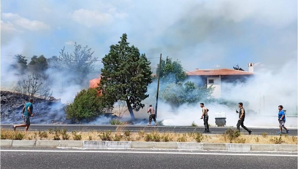 Muğla'da orman yangını (Evler tahliye ediliyor)