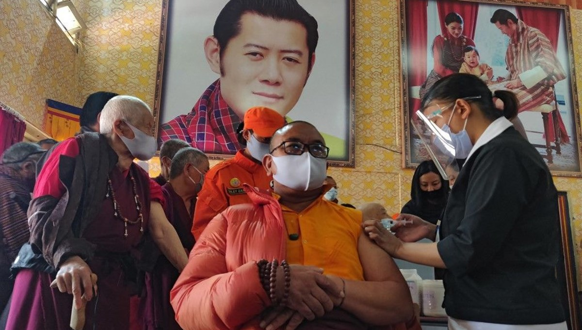 Bhutan vaccinated 93 percent of its adult population in just 16 days