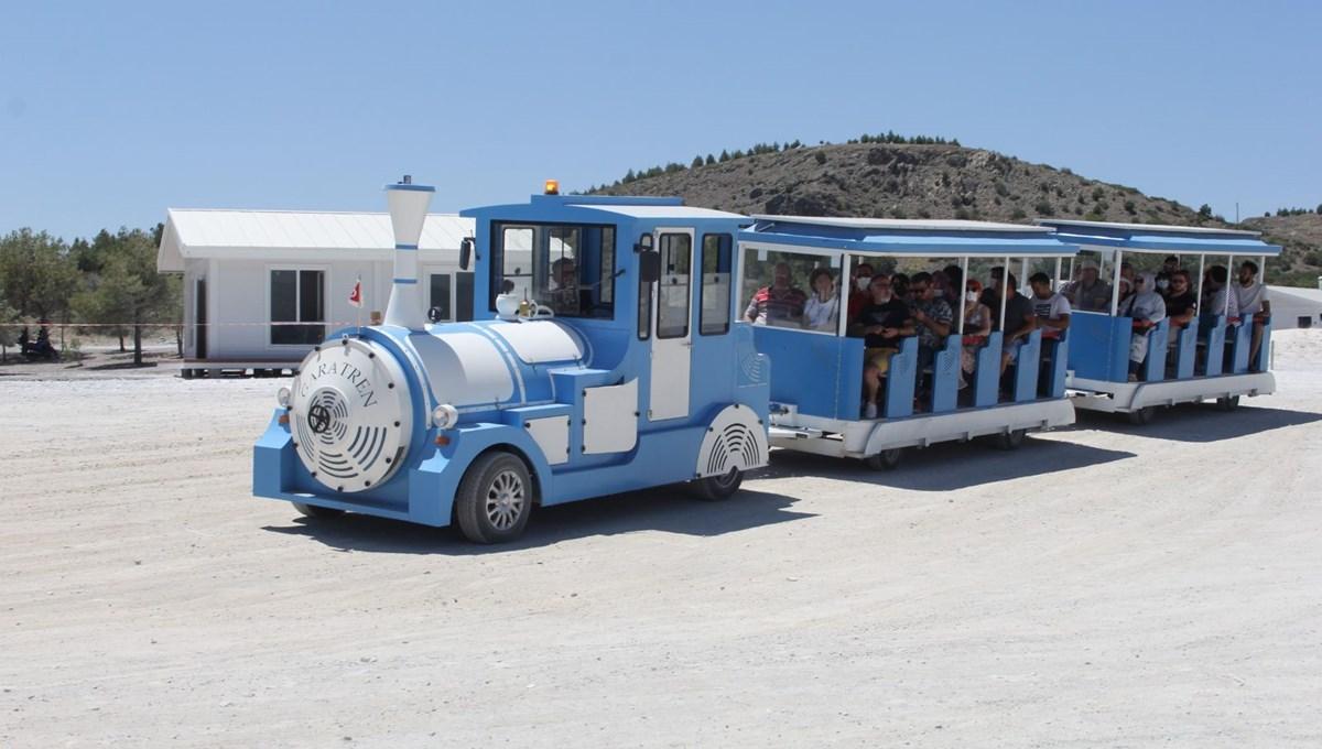 Salda Gölü'ne araç girişi yasaklandı, 'Gara Tren' dönemi başladı