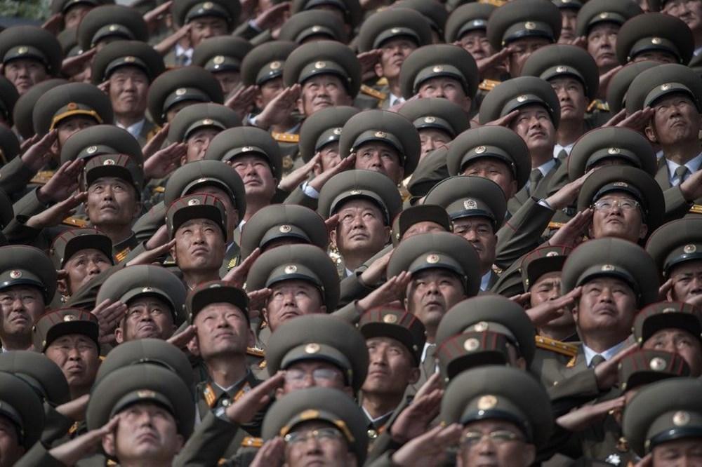 Kuzey Kore tarihi geçit törenine hazırlanıyor - 5