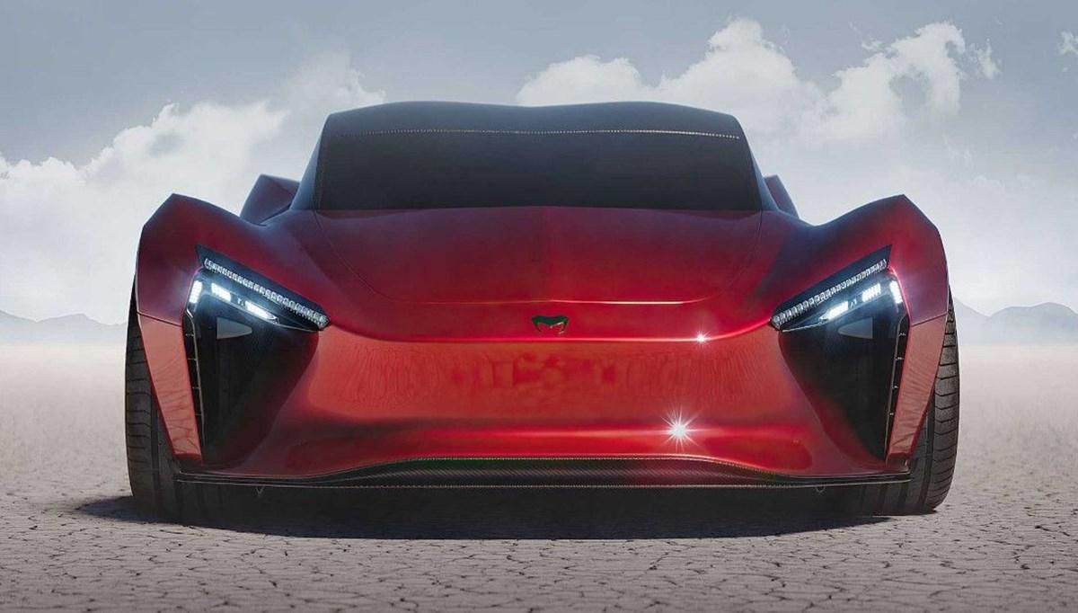 Hindistan'ın yeni hiper otomobili: 1000 beygirlik elektrikli