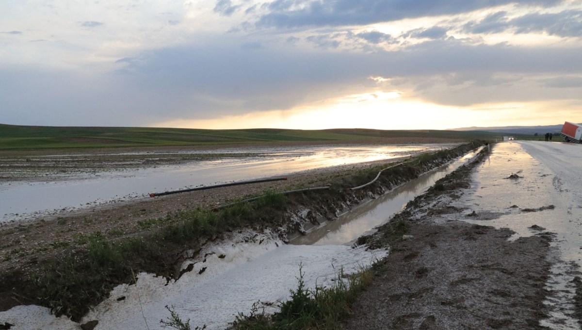 Yozgat'ta sel tarım alanlarını vurdu