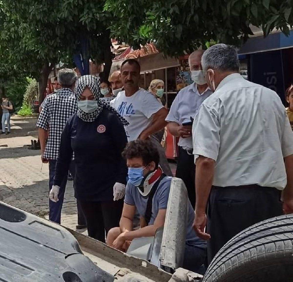 Otomobili takla atan oyuncu İlker Aksum'dan açıklama - 3