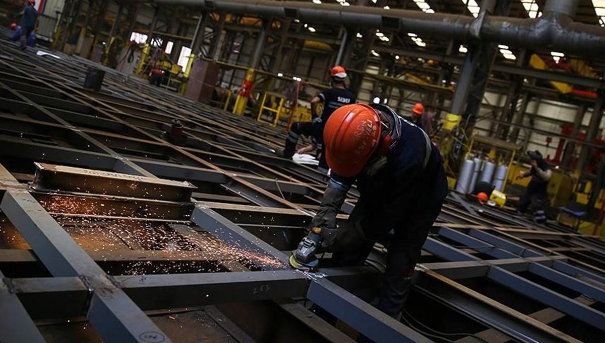Şubat ayı sanayi üretimi rakamları açıklandı
