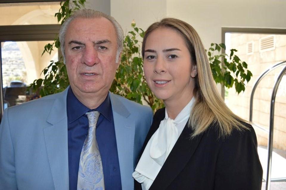 Süleyman Bölünmez ve kızıAK Parti İzmir Milletvekili Ceyda Bölünmez Çankırı