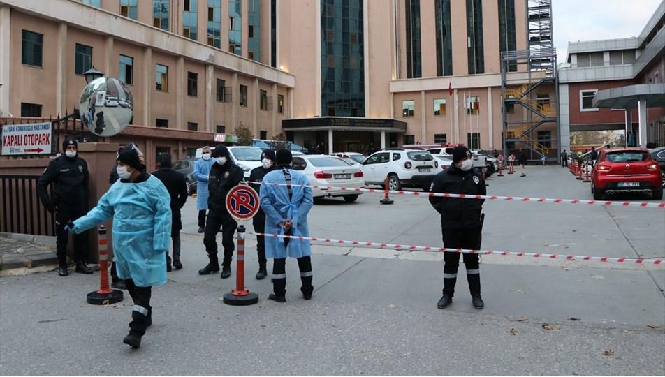 Gaziantep'te bir hastanede oksijen tüpüpatladı, 8 kişi hayatını kaybetti