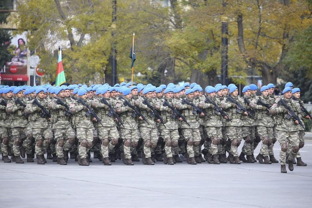 Bakü'de Karabağ zaferi kutlaması - 1