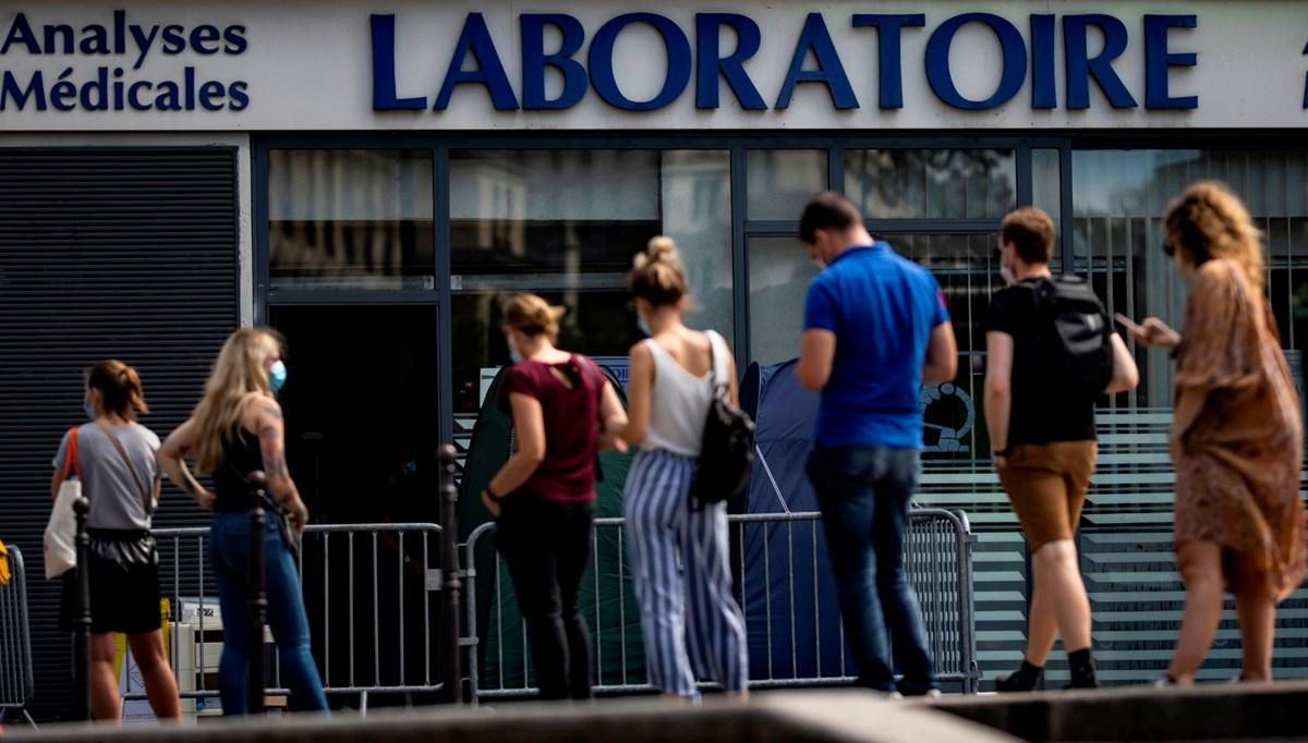 Fransa'da Covid-19 vaka sayısında son 3 ayın rekoru kırıldı
