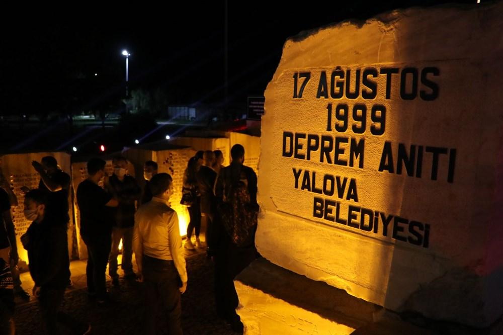 17 Ağustos depreminin 21. yılı: Hayatını kaybedenler törenle anıldı - 6